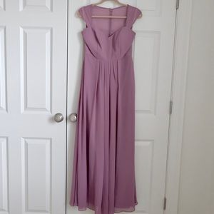 Cap sleeve prom/formal dress